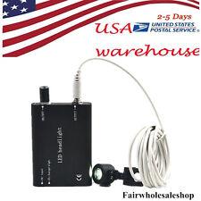 Portable Black LED Head Light Lamp for Dentist Dental Loupes 2-5 DAYS--Black