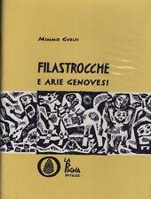 Numbered! 10/300. Nursery rhymes and tunes the Genoese. Engravings of Marangoni.