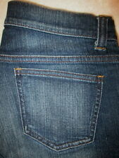 DKNY Stretch Boot Cut Womens Dark Blue Denim Jeans Size 8 P x 26.5  Mint