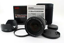 Sigma EX 17-50mm f/2.8 OS HSM DC Lens For Nikon AFd w/ Box [N Mint] JAPAN 679109