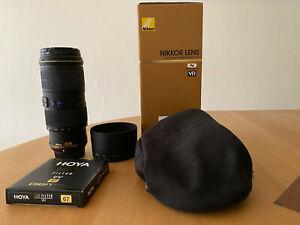 Nikon AF-S Nikkor 4/70-200 ED VR Objektiv