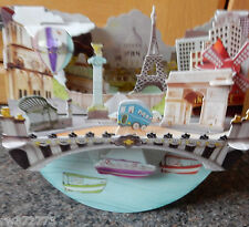 "3D Popnrock Card by Santoro  - ""Paris"""