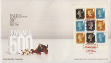 TALLENTS GB ROYAL MAIL FDC FIRST DAY COVER  2016 ROYAL MAIL 500 PRESTIGE PANE