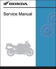 Honda 2002-2003 VFR800/A Service Manual Shop Repair 02 03