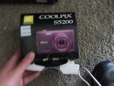 Nikon COOLPIX S5200 16.0MP Digital Camera - Plum