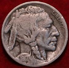 1917-D Denver Mint Buffalo Nickel