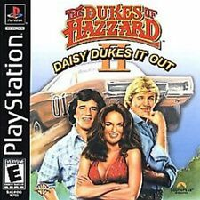 Dukes of Hazzard II 2 Daisy Dukes It Out Complete in case w/ manual Playstation