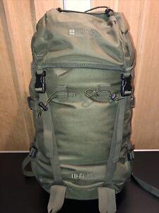 Mountain Warehouse 50 Litre Rucksack VGC Backpack Green High50 Waist Belt Hiking