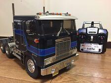 Tamiya 1/14 RC Globe Liner Tractor Semi Truck RTR Hauler Used