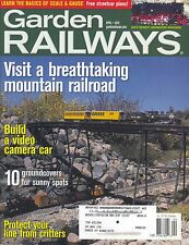 GARDEN RAILWAYS MAGAZINE APRIL 2005 VOL 22, NO 2