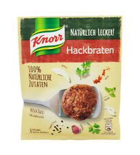 6x Knorr Fix 100% natural 🍴 Hackbraten meat loaf 🍲 spice mix TRACKED SHIPPING