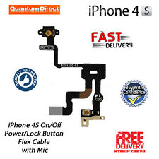 NEW iPhone 4S Replacement On/Off Power/Lock/Button/Switch Flex Cable Repair