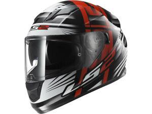 LS2 Integral Helmet FF320 Stream Bang Black-Red-White Motorcycle From Hptt