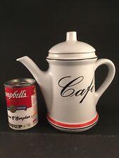 Vintage Waechtersbach Pottery Cafe Tea Pot / Coffee Pot w/ Lid West Germany