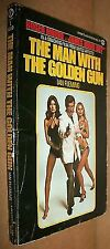 James Bond: The Man with the Golden Gun by Ian Fleming (1966, Paperback)