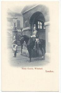 AK, London, Whitehall, Horse Guards, um 1900