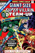 SUPER-VILLAIN TEAM-UP GIANT SIZE (1975 Series) #2 Very Good Comics Book