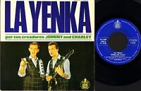 "JOHNNY AND CHARLEY la yenka 4 track ep HH 17 308 spanish hispavox 7"" PS VG/EX"