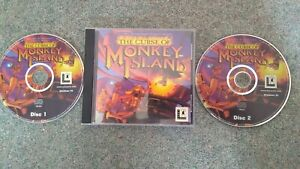 THE CURSE OF MONKEY ISLAND - LUCASARTS 1997 - PC CD-ROM x 2 IN SINGLE CASE