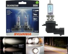 Sylvania Silverstar 9006 HB4 55W Two Bulbs Head Light Replace Low Beam Halogen