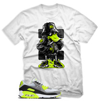 Funny Duck T shirt For Nike Air Max 90 OG Volt, White Mens & Womens T-shirt