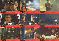 SCARFACE THE MOVIE CARDS INC. FACTORY BASE CARD SET OF 21 + 9 PUZZLE CARDS