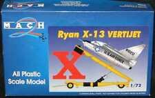 Mach 2 Models 1/72 RYAN X-13 VERTIJET with Launch Trailer