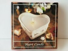 Longaberger Heart Candle Retired 74721 Candle Refill New In Box