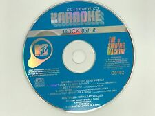 MTV KARAOKE THE SINGING MACHINE CD+G ROCK VOL 2 G8102 8 TRACKS