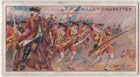 1743 Battle Of Dettingen Germany 100+ Y/O Ad Trade Card