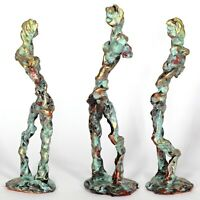 "Kunst Skulptur ""Mozart"" 21 cm Unikat Andreas Loeschner-Gornau"