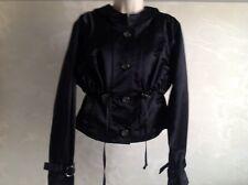 woman' s Celine black silk jacket size 40