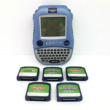 Quantum Leap iQuest By LeapFrog Learning System Educational Toy With 5 Cartridge