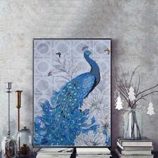 Peacock 5D Diamond Painting Special Shaped DIY Crystal Rhinestone Art Part Drill