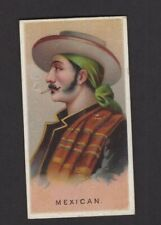 1888 Allen & Ginter World's Smokers N33 MEXICAN