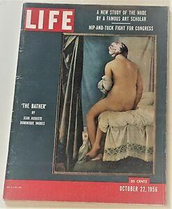 October 22, 1956 LIFE Magazine Old 50s retro ad ads FREE SHIP ADVERTISING '56