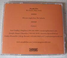 ARCADE FIRE - We Used To Wait *MaxiCD* 1-Track US