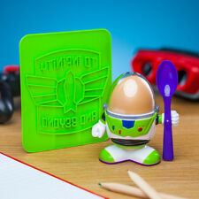 Disney Pixar Toy Story Buzz Lightyear Egg Cup and Toast Cutter