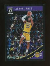 2018-19 Donruss Optic Black Velocity Prizm #94 LeBron James Lakers 28/39