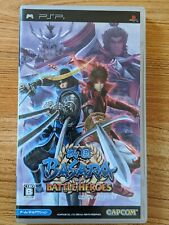 PlayStation Portable PSP Japan Import Sengoku Basara Battle Heroes UK SELLER