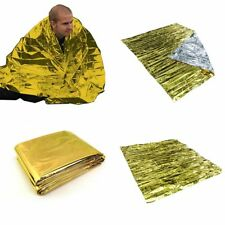 Waterproof Emergency Solar Blanket Safety Survival Insulating Mylar Thermal Heat