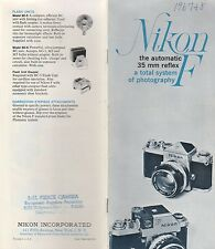 NIKON F 2 MANUALS-AUTOMATIC 35 MM REFLEX & INTERCHANGEABLE VIEWFINDER SCREENS