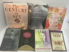 Mixed Lot of 7 Books on History of Sex, Celibacy, Kama Sutra - Free Shipping
