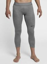 Nike Men's Pro Hypercool 3/4 Atmosphere Grey Training Tights (AT3643-059) S/L/XL