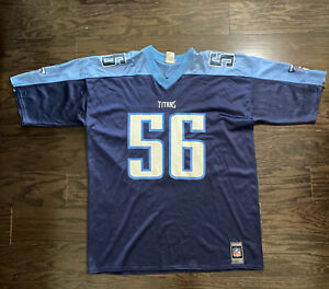 Tennessee Titans Football NFL Football Jersey 56 Randall Godfrey Mens XXL Reebok