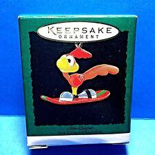 "Hallmark ""Little Beeper "" Miniature Ornament 1995"