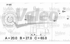 VALEO Alternador 14V 75A 55mm RENAULT MEGANE LAGUNA SCENIC ESPACE 436648