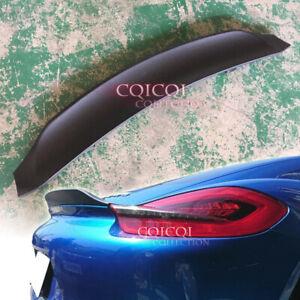 Unpainted duckbill GT4 type trunk spoiler for 14~16 Porsche 981 Cayman S GTS ◎