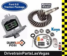 Ford Mustang V8 8.8 Duralock Posi Package Gears Master Kit 28 Spline 3.73 Motive