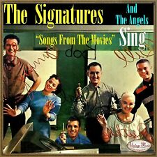 THE SIGNATURES Vintage Vocal Jazz CD Songs From The Movies, And The Angels Sings